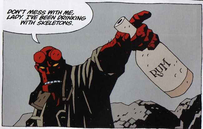hellboy-drinking-skeletons